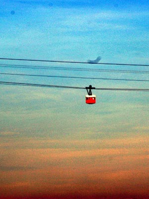 Barcelona's Port Cable Car