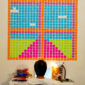 Deadline - Post-it Stop Motion (Bang-yao Liu)