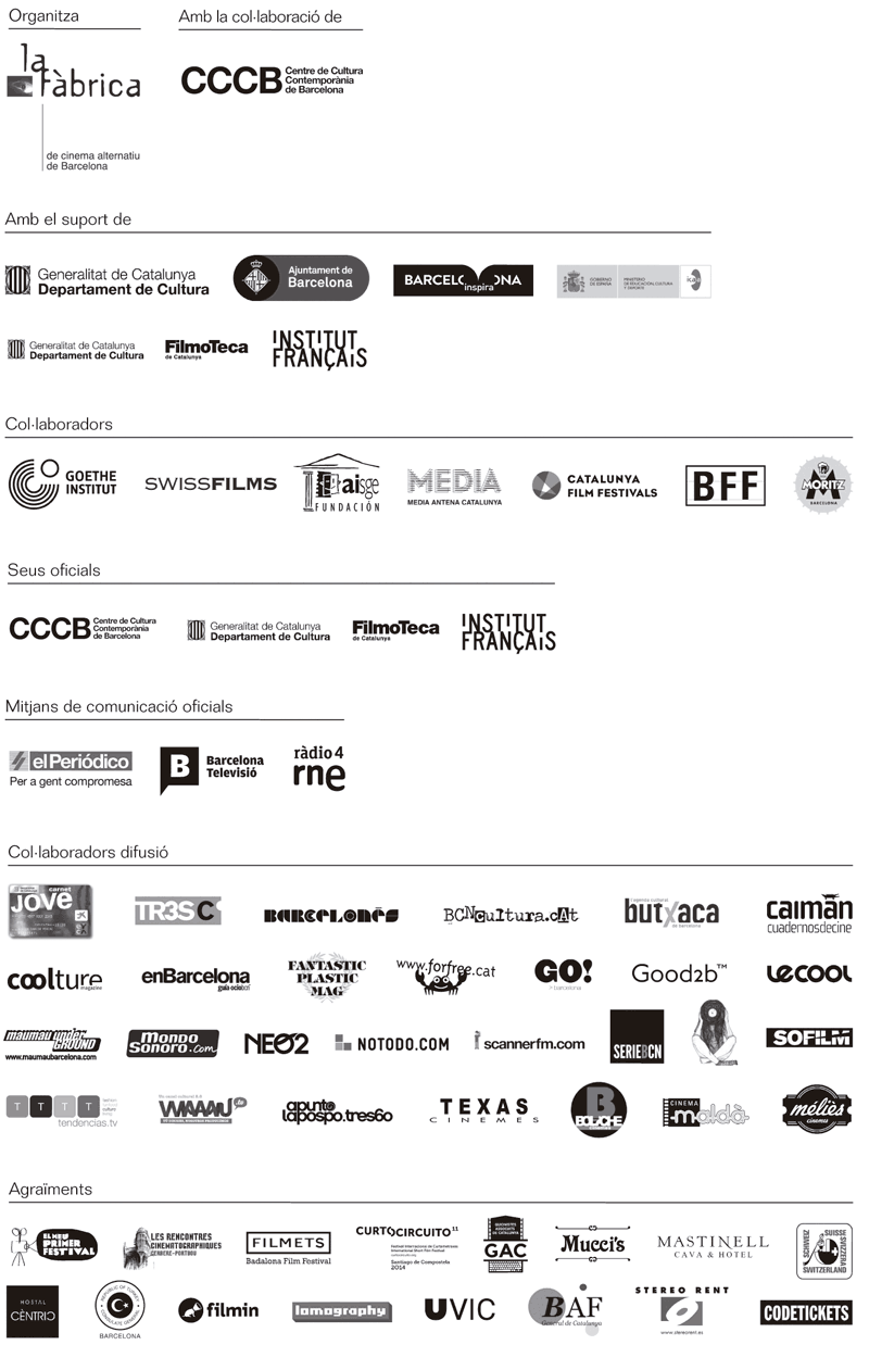 Patrocinadors » L'Alternativa, 21è Festival de Cinema Independent de Barcelona