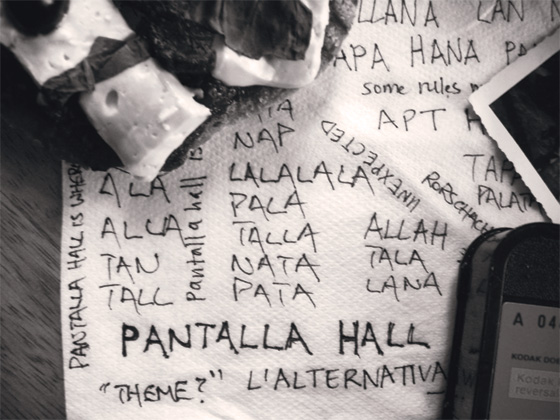 Aperitivo Pantalla Hall