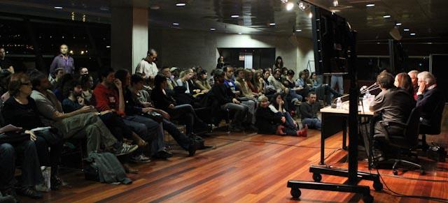 mesa redonda contador de historias @ l'Alternativa 2011