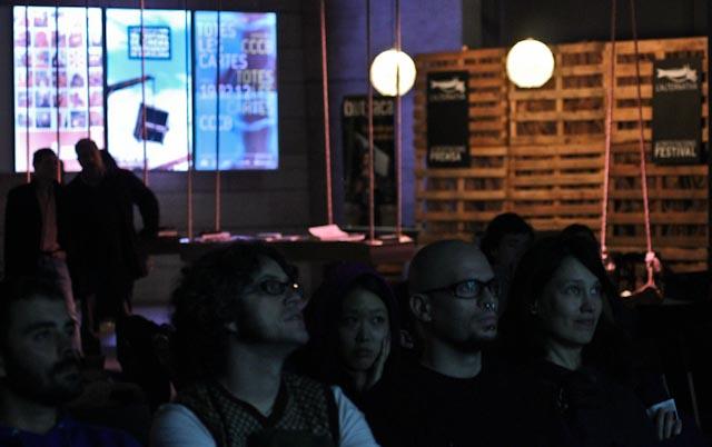 pantalla hall @ l'Alternativa 2011