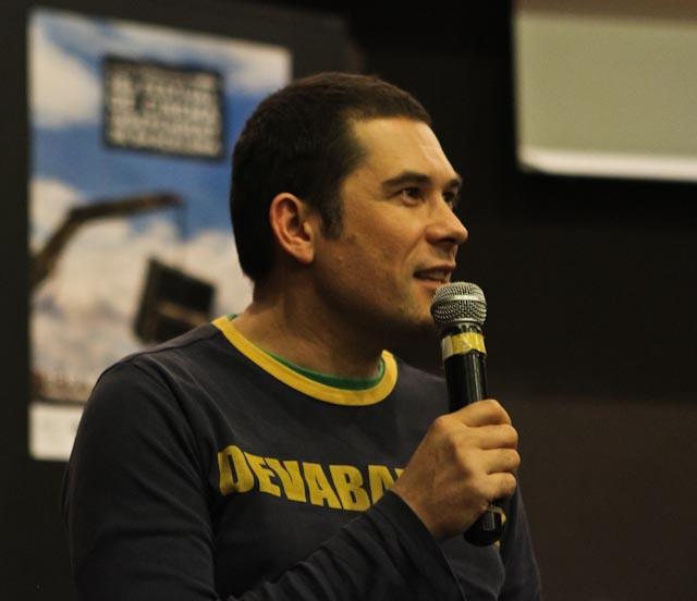 Bernd Lützeler (The Voice of God) @ l'Alternativa 2011