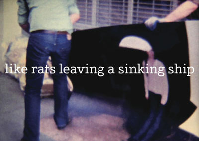 Resea de &#8216;Like Rats Leaving a Sinking Ship&#8217;